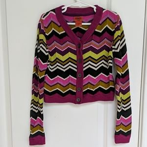 Missoni for Target kids cardigan